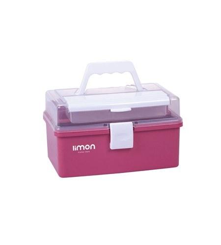 عکس جعبه لوازم خیاطی ساده لیمون Limon کد ۱۲۹۴  جعبه-لوازم-خیاطی-ساده-لیمون-limon-کد-1294