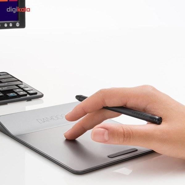 img قلم نوری وکام مدل بامبو پد CTH-300 به همراه تبلت گرافیکی