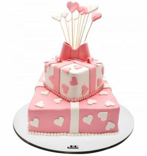 کیک تولد دخترانه هدیه ۵ |