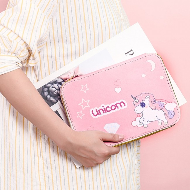 تصویر جامدادی یونیکورن Unicorn pencil case Unicorn pencil case