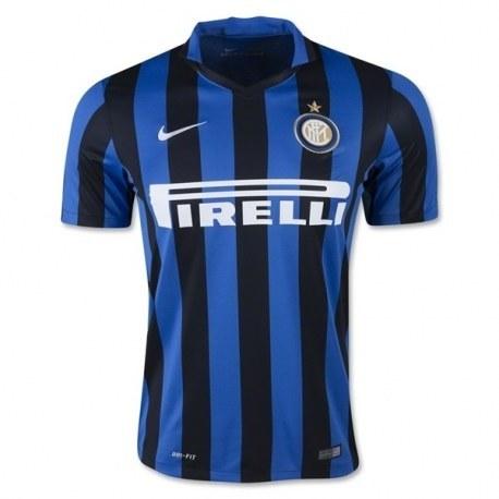 پیراهن اول اینتر میلان Inter Milan 2015-16 Home Soccer Jersey