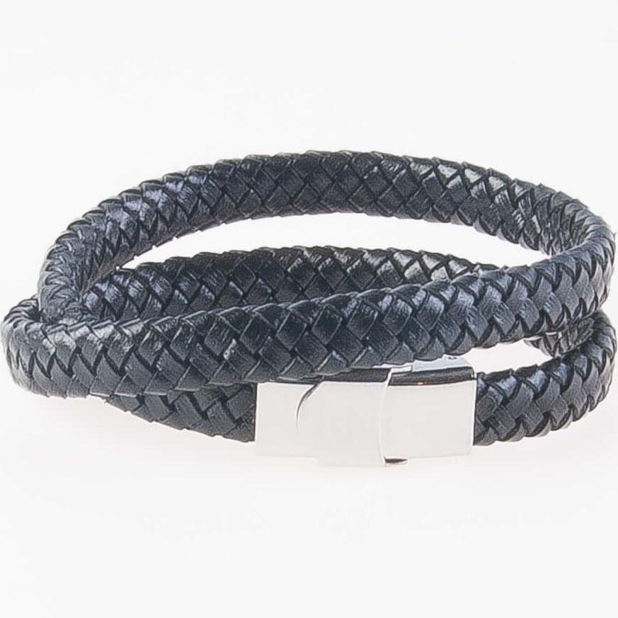 عکس دستبند چرمی فلزی مردانه MM1007  دستبند-چرمی-فلزی-مردانه-mm1007