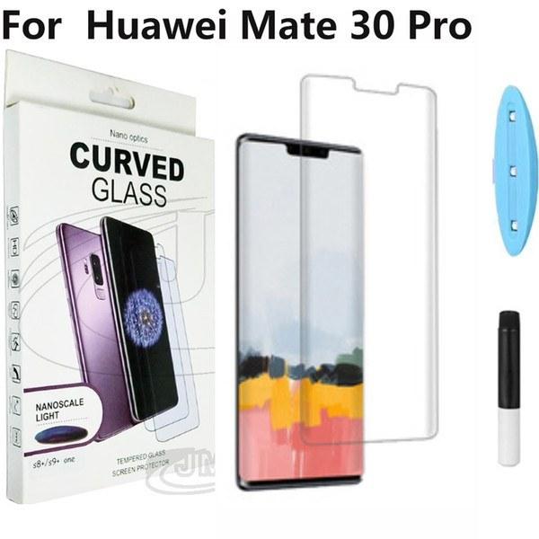 تصویر گلس محافظ صفحه نمایش یووی(UV) هواوی Mate 30 Pro