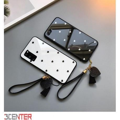 تصویر قاب پشت گلس محافظ لنز دار Glass Case Xiaomi POCO M3