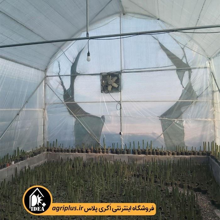 تصویر گلخانه پیش ساخته طرح اسپانیایی 60 متری مدلIPG-P4
