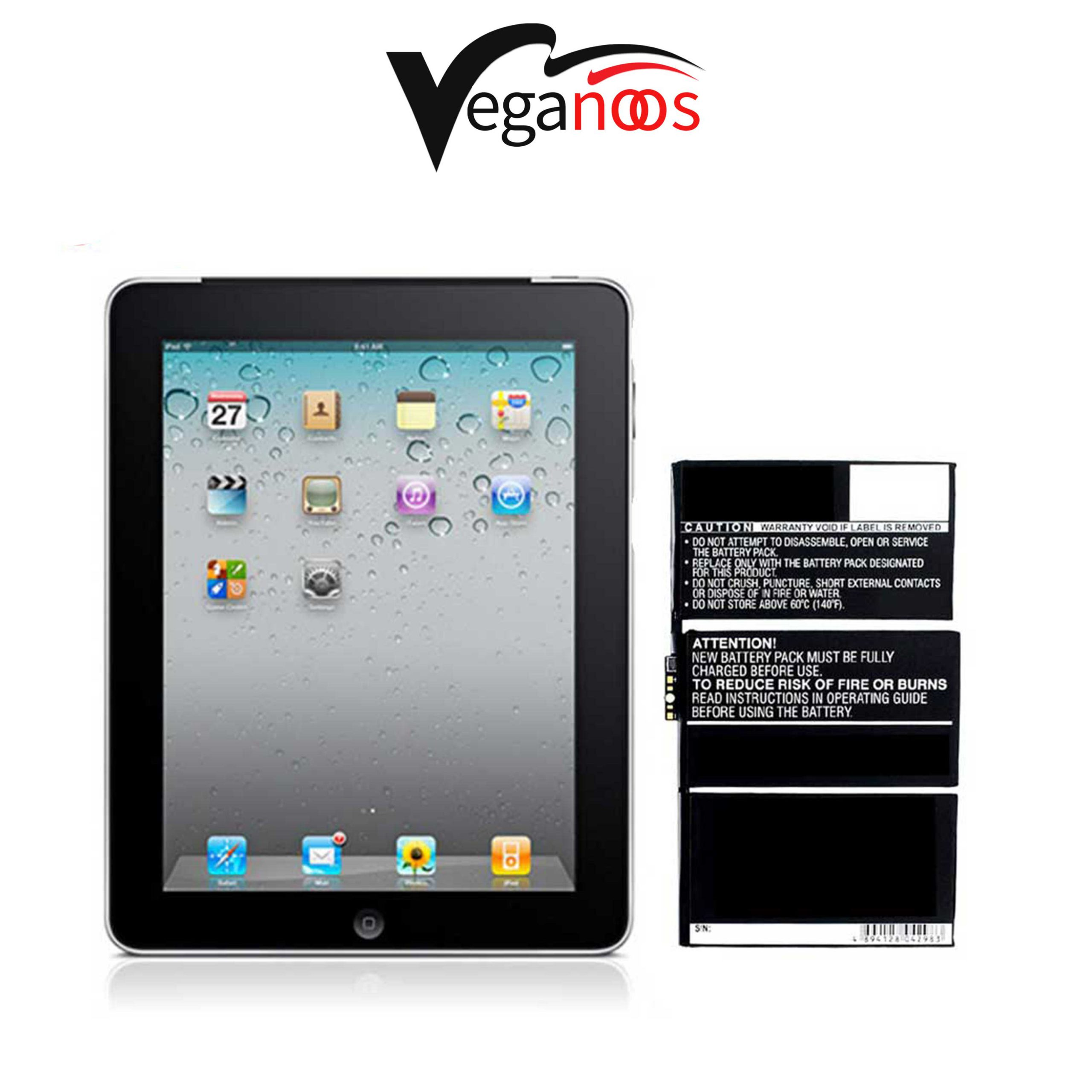 تصویر باتری اصلی آیپد Apple iPad Wi-Fi