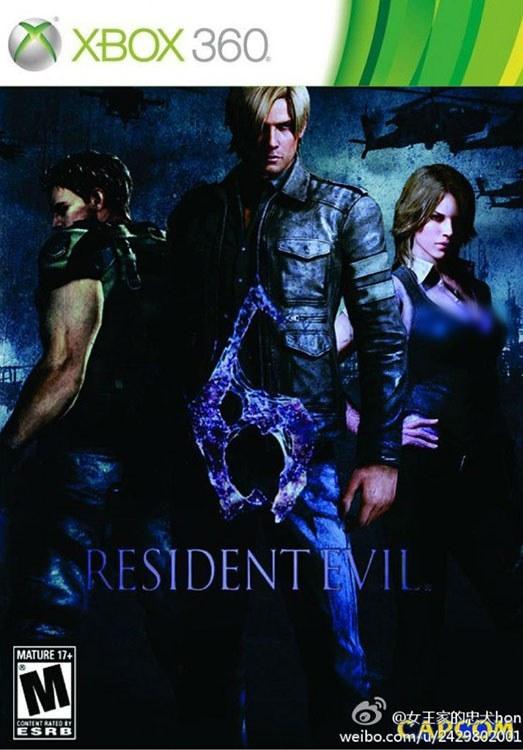تصویر خرید بازی Resident Evil 6 رزیدنت اویل 6 برای XBOX 360
