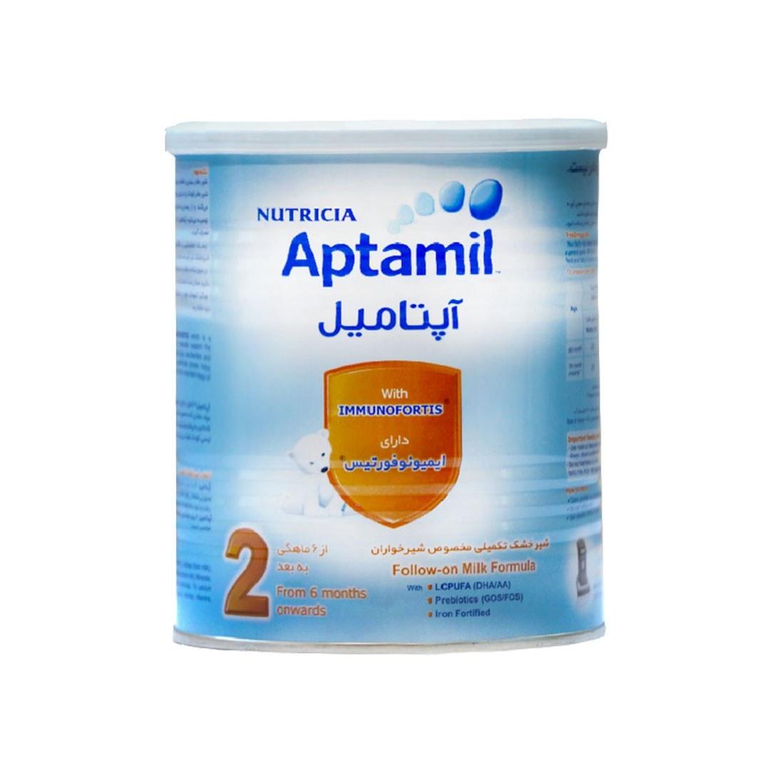 تصویر شیر خشک آپتامیل ۲ نوتریشیا Aptamil 2 Infant Milk Formula