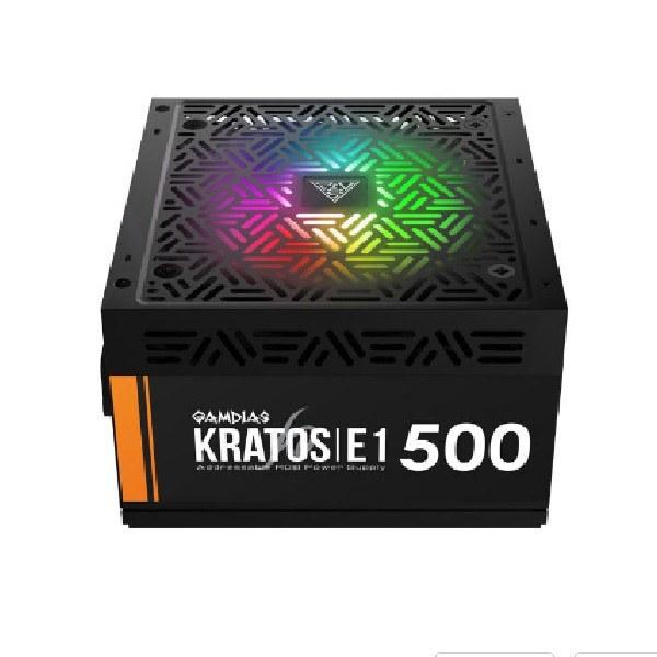 منبع تغذیه کامپیوتر گیم دیاس مدل KRATOS E1 500