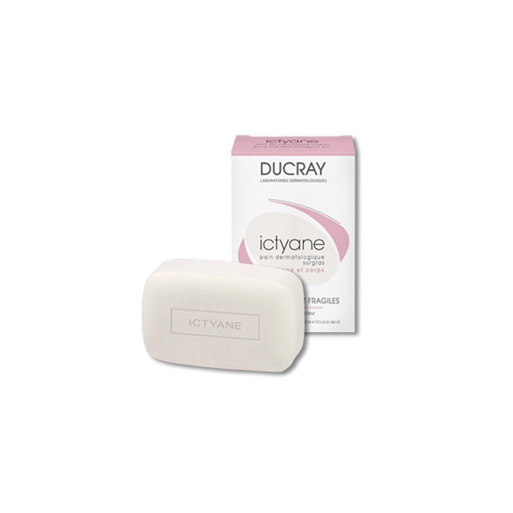تصویر پن ایکتیان دوکری مناسب پوست های خشک و خیلی خشک ۲۰۰ گرم Ducray Ictyane Pain For Dry And Very Dry Skins 200 g