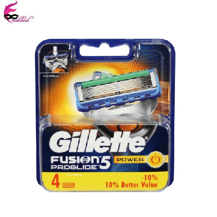 تیغ یدک ژیلت مدل Fusion Proglide بسته 4 عددی | Gillette Fusion Proglide Blades Pack Of 4