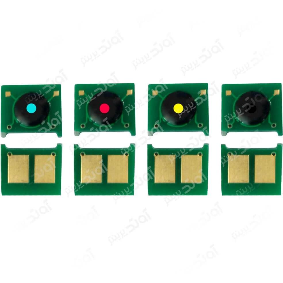 تصویر چیپست کارتریج اچ پی HP 1215 چهار رنگ