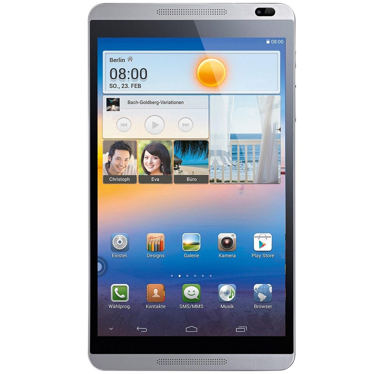 تبلت هوآوي مدل MediaPad M1 8.0 3G - ظرفيت 8 گيگابايت | Huawei MediaPad M1 3G Tablet - 8GB