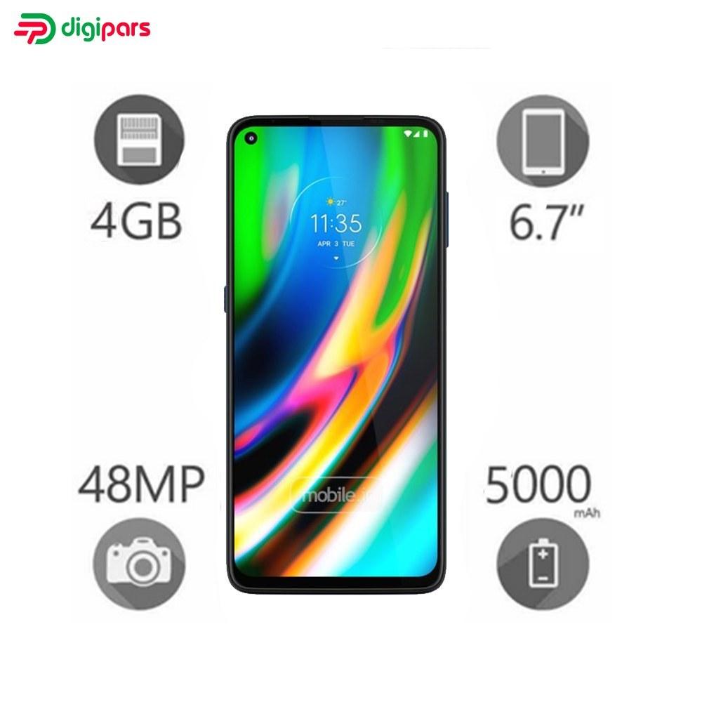 تصویر گوشی موبایل موتورولا مدل Moto G 5G دو سیم کارت ظرفیت ۱۲۸ گیگابایت و رم ۴ گیگابایت