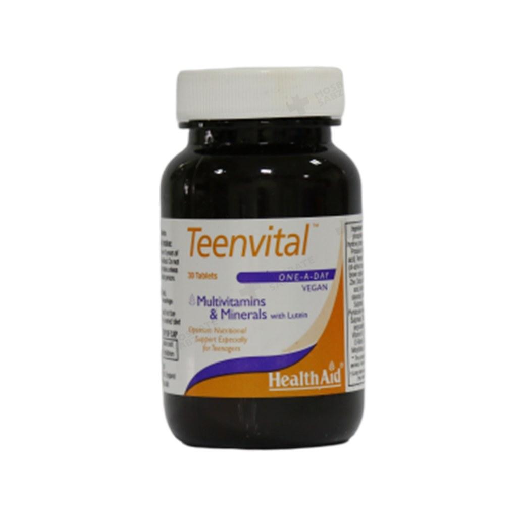 قرص مولتی ویتامین مینرال تین ویتال هلث اید 30 عدد