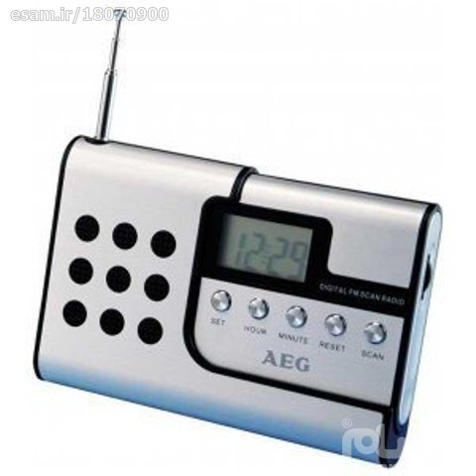 رادیو جیبی اسپیکر دار تک موج المانیAeg