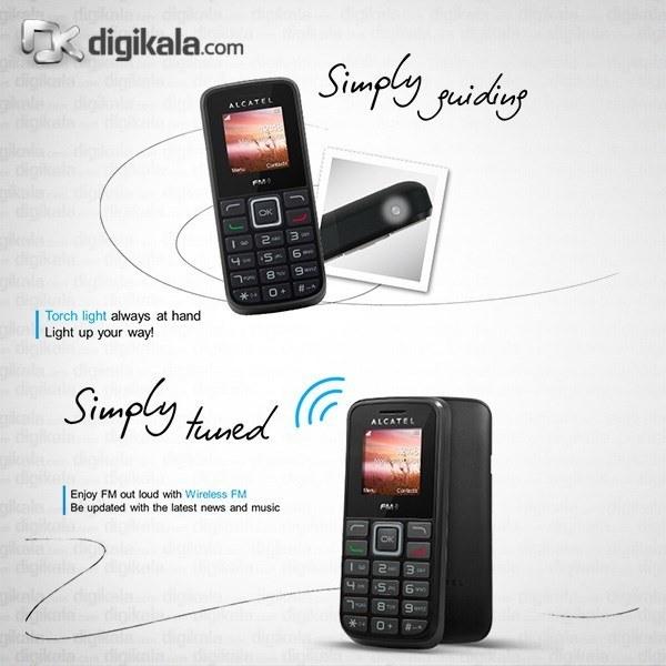 img گوشی آلکاتل وان تاچ 1010D   ظرفیت 4 مگابایت Alcatel One Touch 1010D   4MB