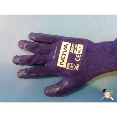 دستکش لاتکس ضد برش سوپر مدل NTG 9002 نووا |