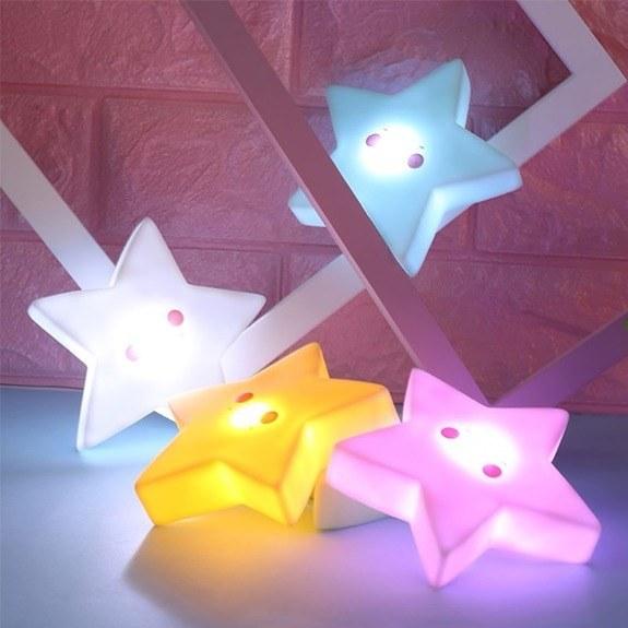 چراغ خواب فانتزی اتاق کودک ستاره