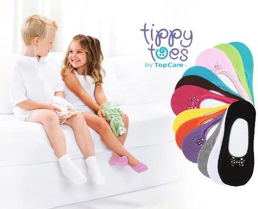 جوراب روفرشی بچگانه tippy toes