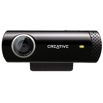 تصویر وب کم کریتیو مدل لایو کم چت اچ دی وب کم کریتیو Live! Cam Chat HD 720p Webcam