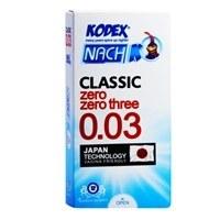 تصویر کاندوم نازک 30 میکرون کدکس مدل Classic 0.03 ا Kodex zero zero three Condoms Kodex zero zero three Condoms