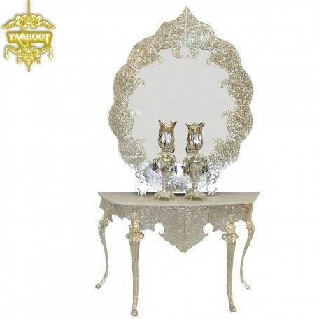 آینه و شمعدان و کنسول ملیله خاتون بزرگ