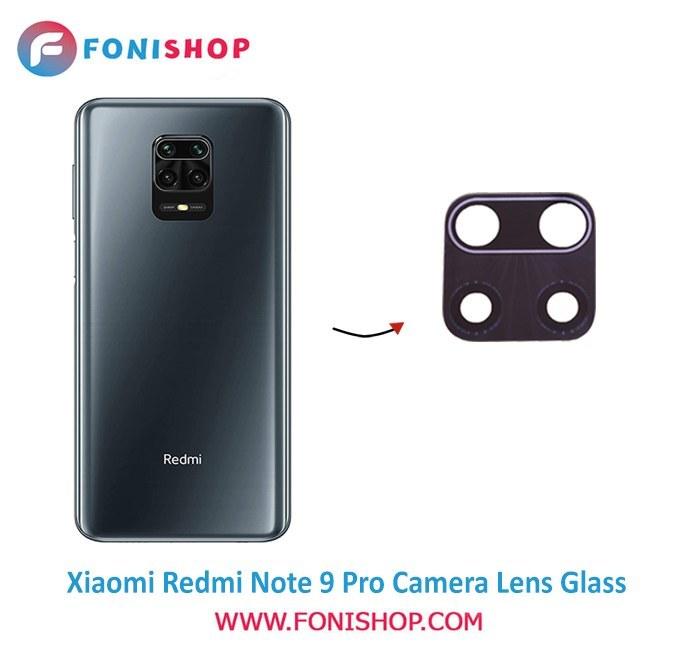 تصویر شیشه لنز دوربین گوشی Xiaomi Redmi Note 9 Pro ا Xiaomi Redmi Note 9 Pro Camera Glass Lens Xiaomi Redmi Note 9 Pro Camera Glass Lens