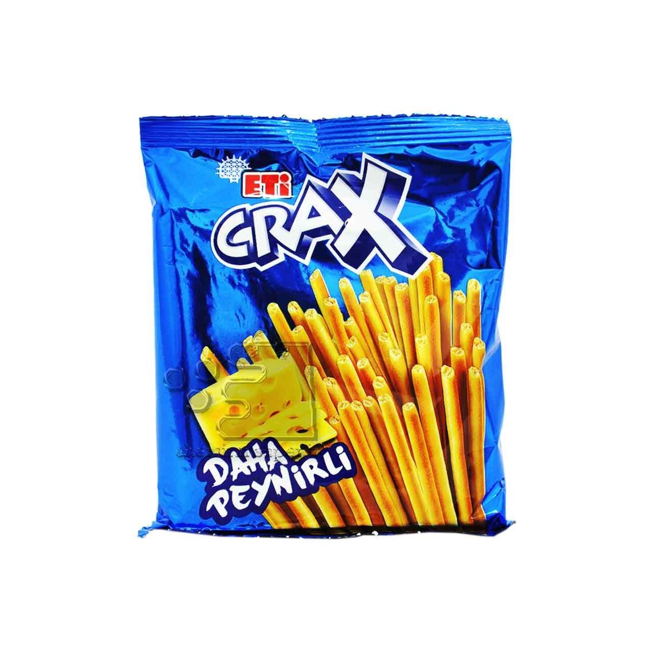 تصویر چوب شور پنیری ۸۰ گرم کراکس اتی – crax
