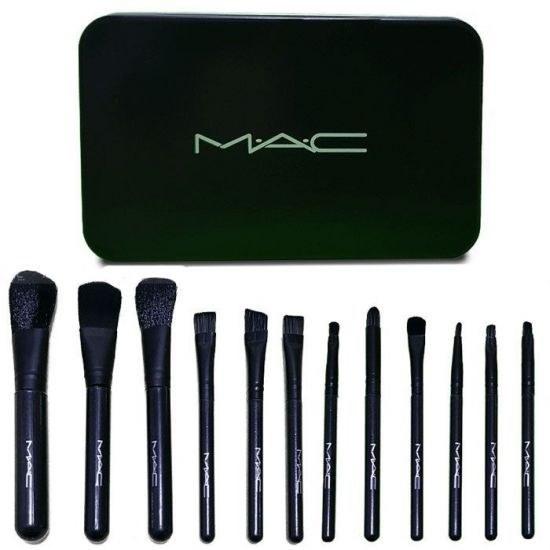 ست براش ۱۲ عددی مک (mac 12 pcs brush set)