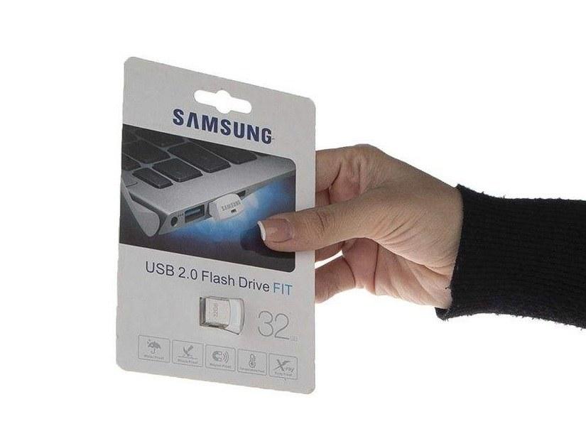 تصویر فلش مموری سامسونگ مدل Fit USB2 ظرفیت 32 گیگابایت Samsung Fit USB2 Flash Memory - 32GB