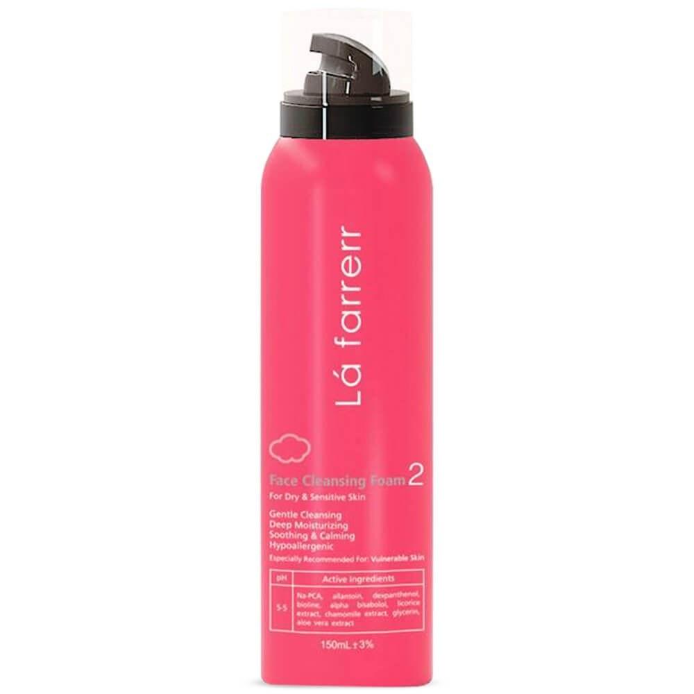 تصویر فوم شستشوی صورت لافارر مخصوص پوست های خشک و حساس حجم 150 میل ا Lafarrerr Face Cleansing Foam For Dry And Sensitive Skin 150ml Lafarrerr Face Cleansing Foam For Dry And Sensitive Skin 150ml