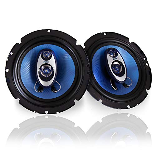 "عکس 6.5 اینچی سیستم بلندگو صدا سه طرفه - 180 W RMS / 360W قدرت کار با w / 4 اهم امپدانس و Piezo Tweeter 3/4 '' برای استریو کامپوننت اتومبیل ، Round Shaped Pro Full Range Triaxial Loud Audio - Pyle PL63BL 6.5"" Three-Way Sound Speaker System - 180 W RMS/360W Power Handling w/ 4 Ohm Impedance and 3/4'' Piezo Tweeter for Car Component Stereo, Round Shaped Pro Full Range Triaxial Loud Audio - Pyle PL63BL 65-اینچی-سیستم-بلندگو-صدا-سه-طرفه-180-w-rms-360w-قدرت-کار-با-w-4-اهم-امپدانس-و-piezo-tweeter-3-4-and-39-and-39-برای-استریو-کامپوننت-اتومبیل-round-shaped-pro-full-range-triaxial-loud-audio-pyle-pl63bl"
