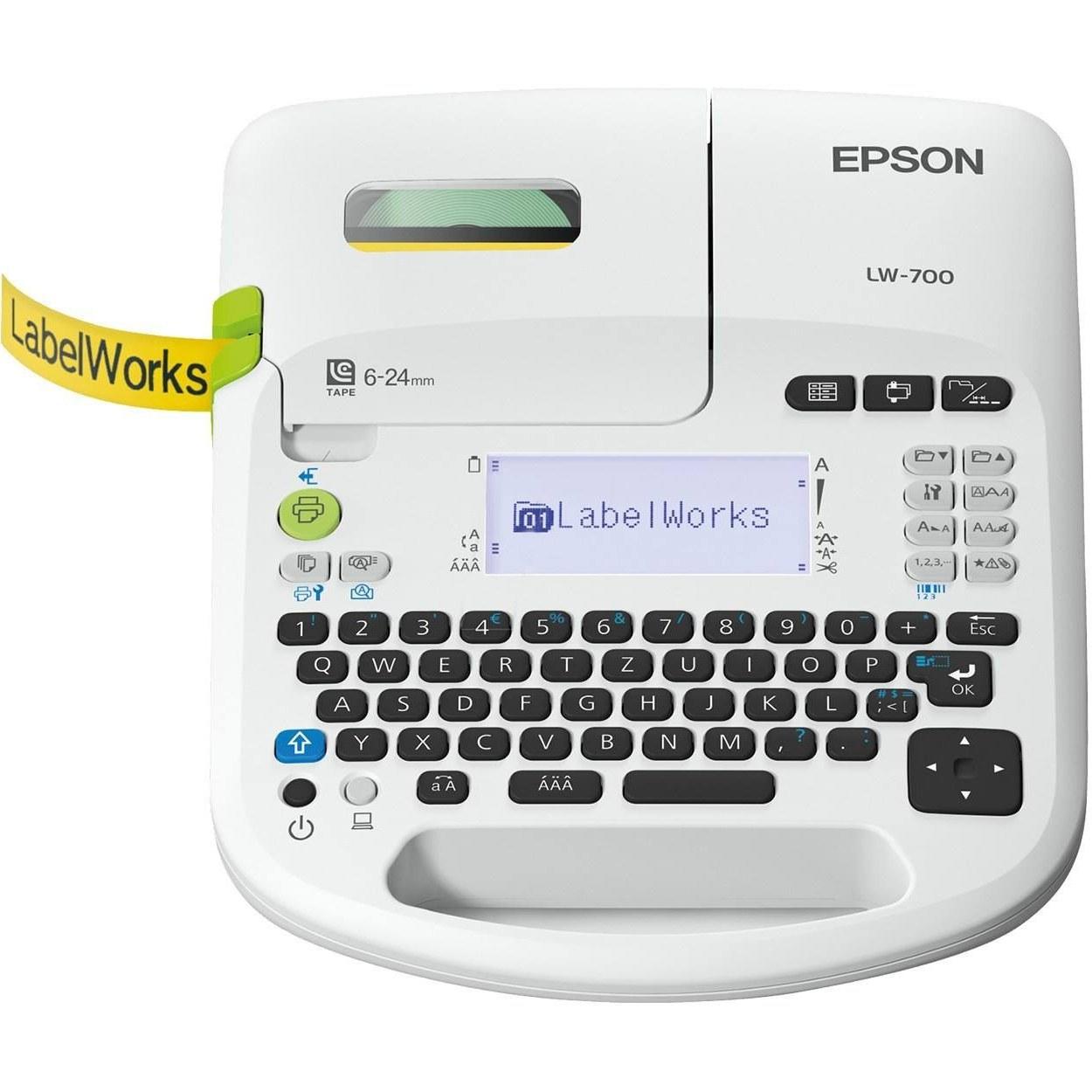 تصویر پرینتر حرارتی اپسون مدل LW-700 Epson LW-700 Label Printer