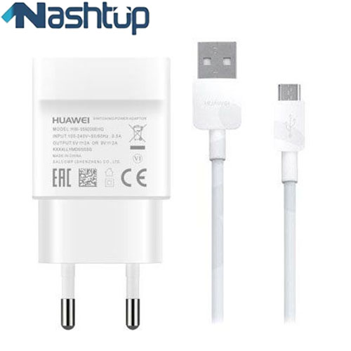 main images فست شارژر و کابل سوپر شارژ اصلی هواوی گوشی Huawei Honor 8C Huawei Honor 8C Quick charge adapter with cable Huawei Honor 8C