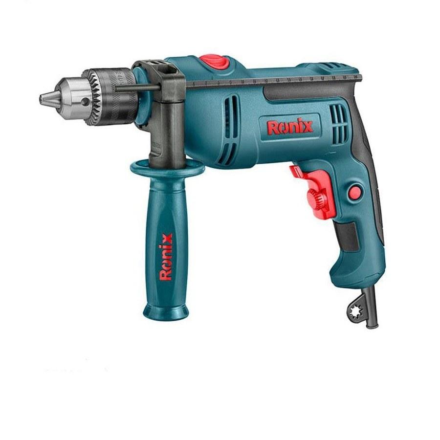 تصویر دریل 13 چکشی 750 وات Ronix مدل 2260 13 watt hammer drill 750 watt Ronix model 2260