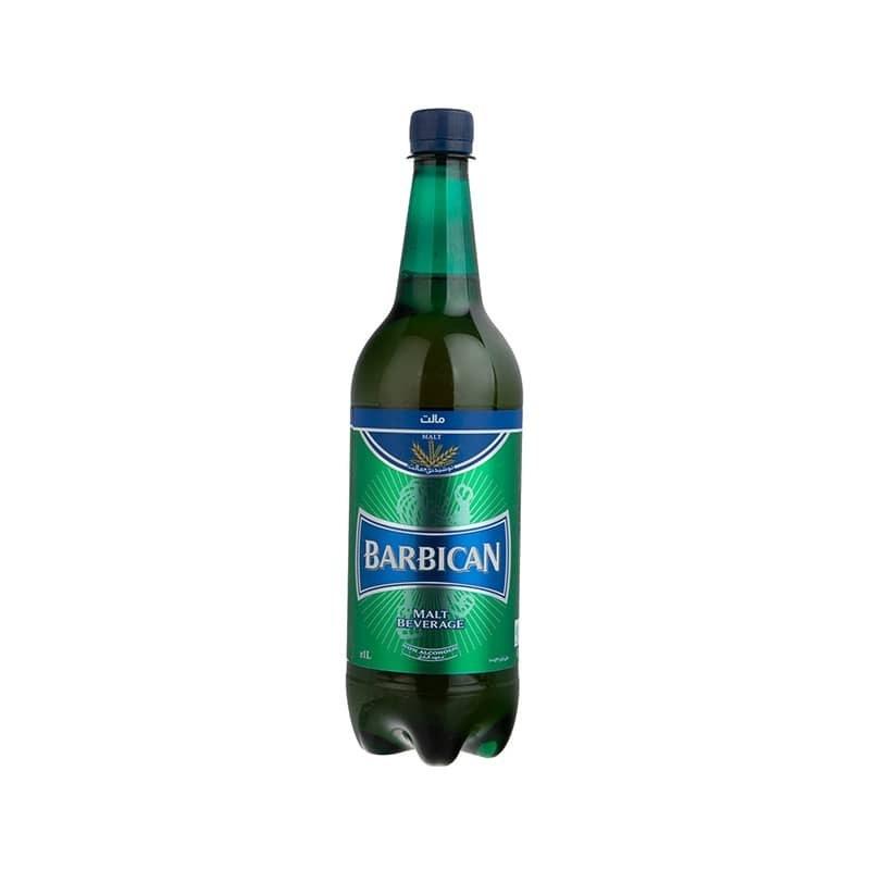 تصویر آبجو بدون الکل باربیکن کلاسیک ۱ لیتری