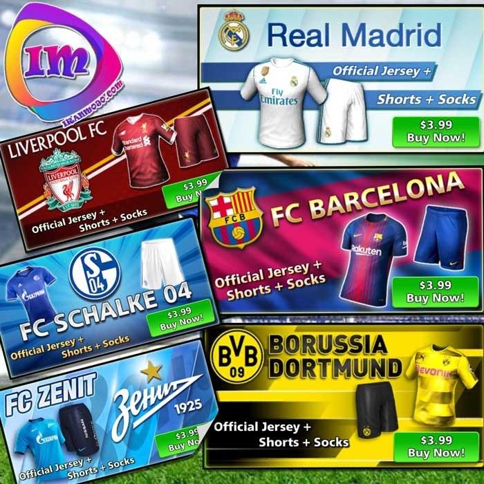تصویر خرید لباس تیم (Official Kits) فوتبال استریک