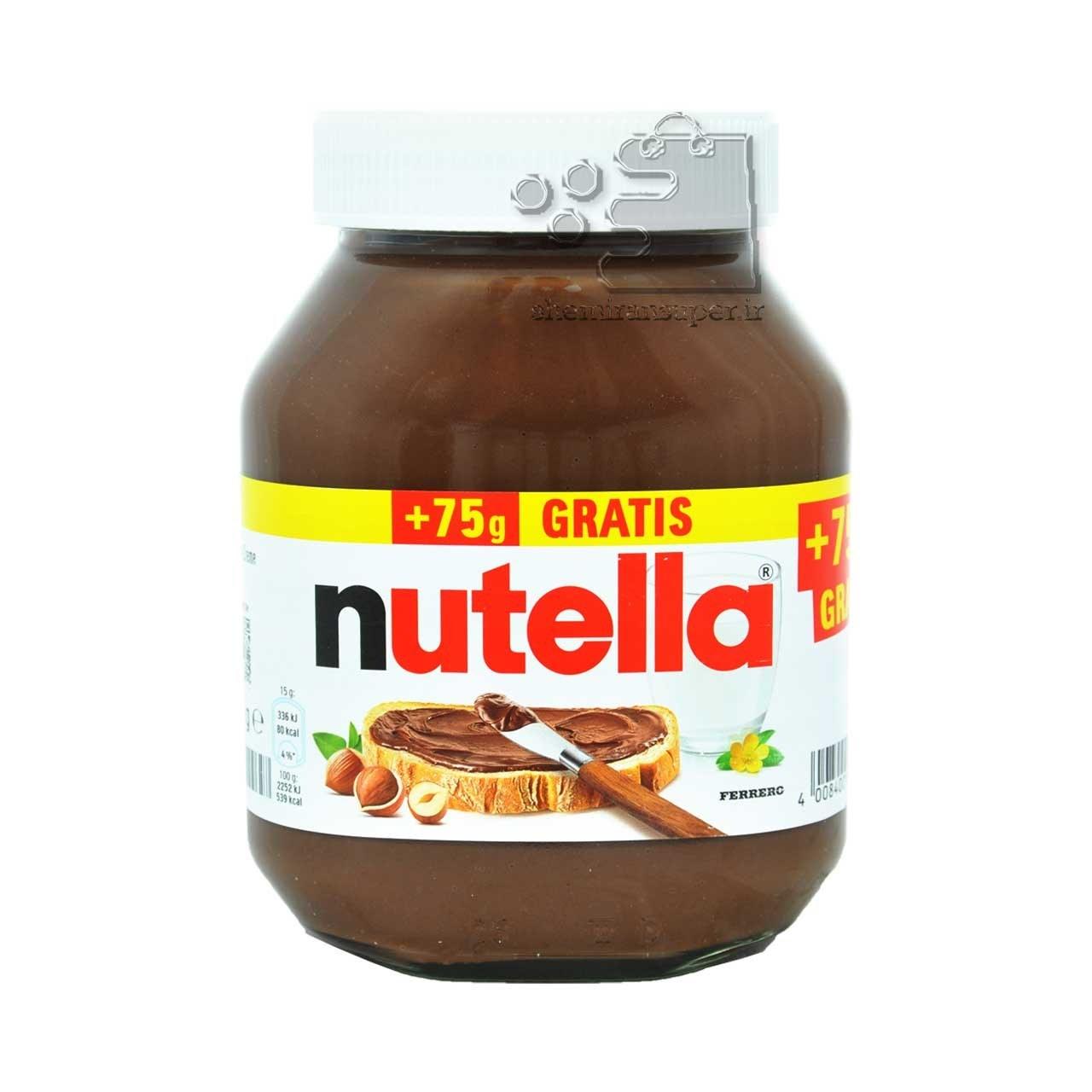 تصویر شکلات صبحانه فندقی ۸۲۵ گرم نوتلا – nutella
