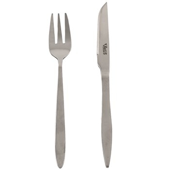 ست کارد و چنگال 12 پارچه ام جی اس مدل 1003 | MGS 1003 Knife And Fork Set 12 pcs
