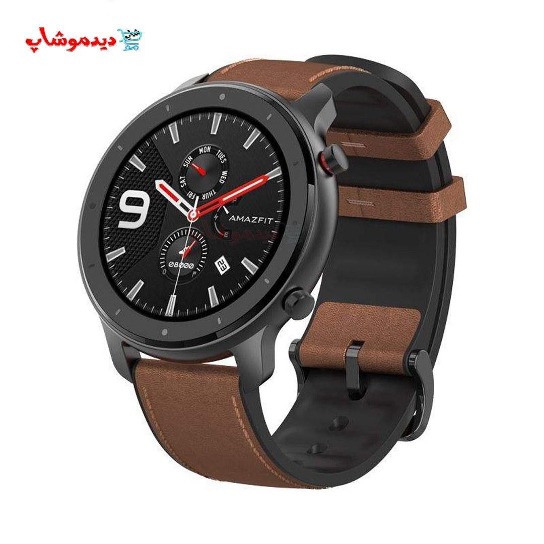 تصویر ساعت هوشمند شیائومی مدل Amazfit GTR 42m  ا Amazfit GTR 42m smartwatch Amazfit GTR 42m smartwatch