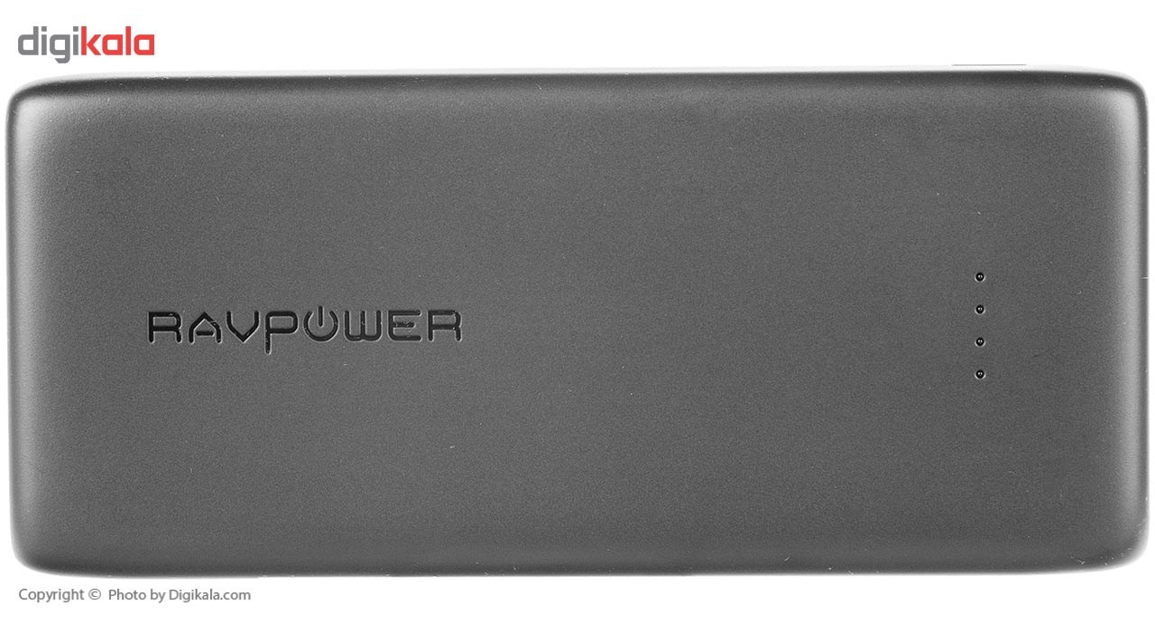 img RAVPower RP-PB064 32000mAh Power Bank پاور بانک راو پاور مدل RP-PB۰۶۴ ظرفیت ۳۲۰۰۰ میلی آمپر ساعت