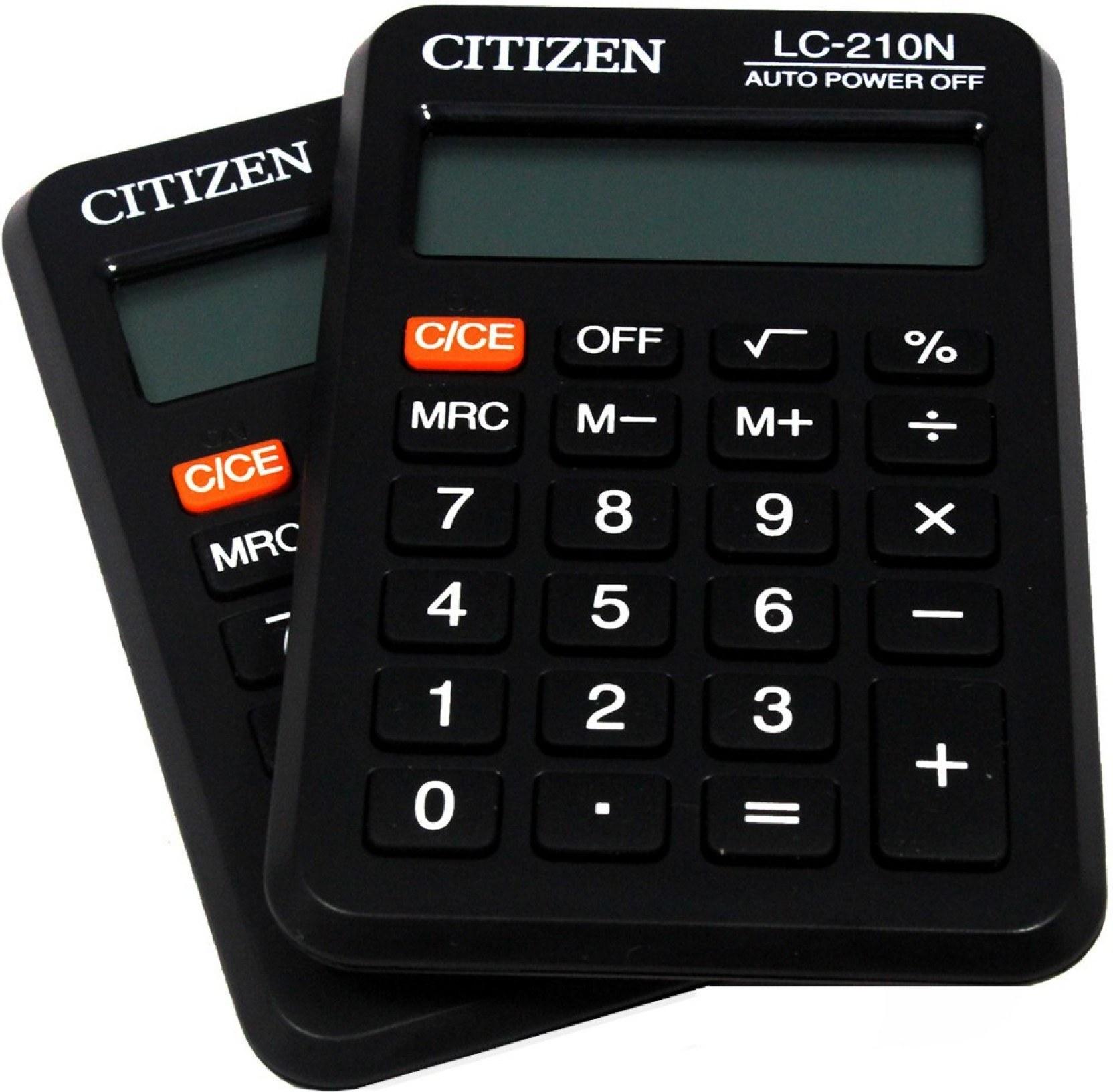 تصویر ماشین حسابLC-210N سیتیزن Citizen LC-210N Calculator
