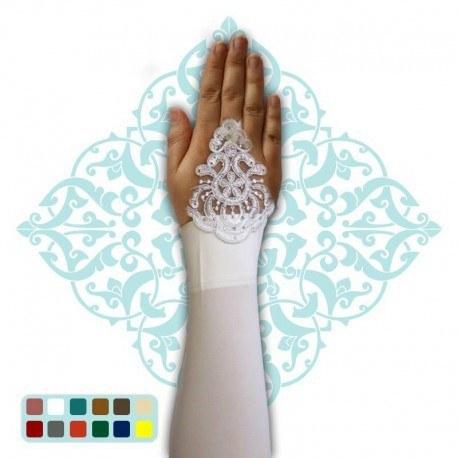 تصویر ساق دست ریون انگشتی گیپور