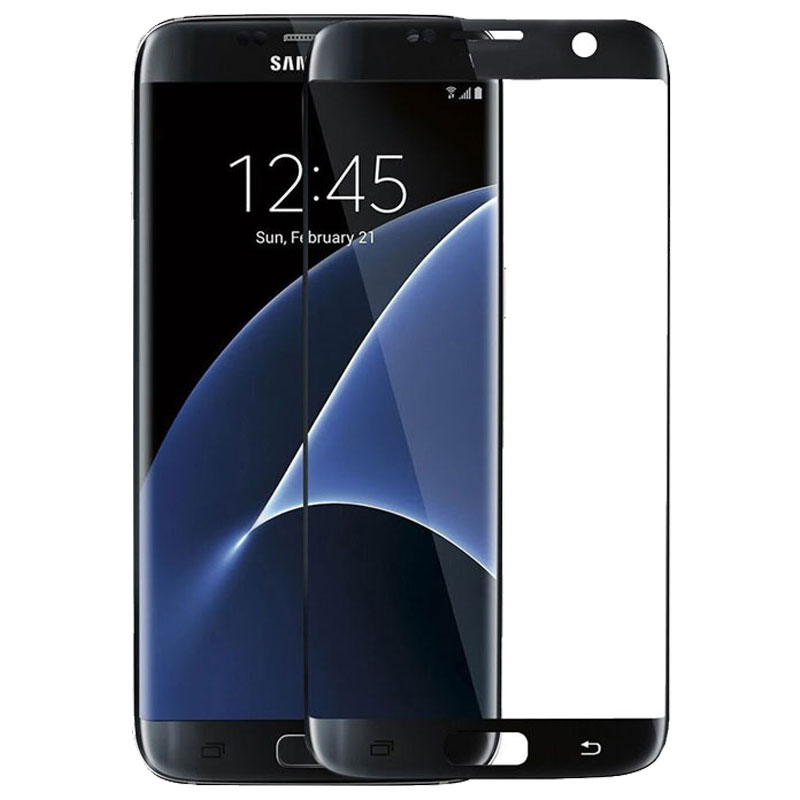 | Samsung Galaxy S7 Edge Tempered Glass Screen Protector Full